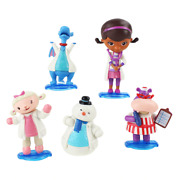 Doc Mcstuffins Cake Toppers 5 Figures Toys Cupcake Birthday Fondant Party Kids