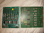 2x Bally Stern Pinball Lamp Driver Boards Game Machines Untested 1977 - 1984