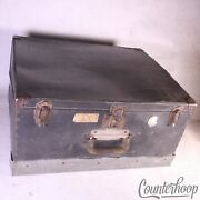 Ludwig 23x19x11 Snare Drum Fibre Case+hardware Section+cymbal Tray Vintage 30s