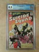 Dc Brave And The Bold Suicide Squad1st App 25 Cgc 4.5 Cream To Off-white Pages