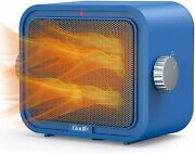 Gladle Space Heater, 1500w Portable Electric Heater For Office Home Gl-hp01 Blue