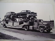 1953 Mercury New Cars On Carrier 11 X 17 Photo / Picture