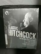 🍿classic Hitchcock - The Criterion Collection Blu-ray - 4 Movies Rare Oop New🍿