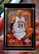 2013 Innovation Stained Glass Gold Kobe Bryant Ssp Rare Acetate Mint Condition