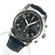 Sinn 103 Chronograph Automatic Day Date Black Dial Menand039s Watch W/ Unused Leather