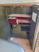Vintage Large Double Door Steel Safe Local Pick Up Only