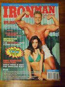 Ironman Bodybuilding Muscle Magazine Jeff Poulin And Amy Weber 8-97