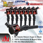 8pcs Ignition Coil For Ford F-150 F250 F550 4.6l 5.4l V8 Expedition Dg508 Fd503