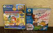 Lot Of 2 Leap Frog / My First Leap Pad And Mr Brown Can Moo. Can You New Sealed