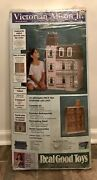 Real Good Toys Victorian Alison Jr Dollhouse J-m907 9 Rooms - New 2007