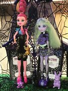 Monster High 13 Wishes Doll Lot - Gigi Grant And Twyla