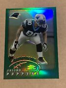 Julius Peppers 2002 Rc Topps Chrome Rookie Refractor Ssp Clean