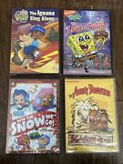 Nickelodeon Dvd Lot, Spongebob To Love A Patty, Bubble Guppies Into The Snow We