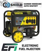 Champion 11,500-w Portable Electric Start Generator W/ Electronic Fuel Injection
