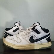 Nike Delta Force Low Black White Vintage 2004 Preowned Size 10 By Dozal