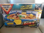 Monster Jam, Monster Dirt Arena Set 24 Playset With 2lbs Of Monster Dirt New