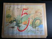 Ww2 Us Marines V Amphibious Force Uss Rocky Mount Suddenly And Violently Poster
