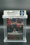 Mike Tysonand039s Punch-out 1987 Nintendo Cib Nes Complete W/ Letter Wata 8.0