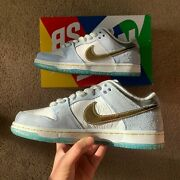 """Nike Dunk Sb Low Pro Qs Sean Cliver """"holiday Special"""" Size 5"""