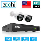 Ip Home Security Camera System 1080p Hd Hdmi Outdoor 4ch Dvr Night Vision Cctv