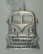 Qqu Life Takes You To Unexpected Places Vw Bus Life Is A Beautiful Ride Ornament