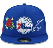 Philadelphia 76ers New Era Royal Icon 2.0 59fifty Fitted Hat 7 3/8