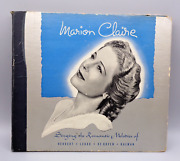 Antique 1906 Marion Claire 78rpm 10-inch Victor Records Operetta Selections