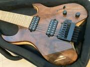Kiesel Carvin V7x vader 7 Strings Headless Electric Guitar And Case Made In Usa