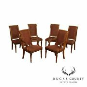 Ethan Allen Townhouse Collection Set 6 Addison Dining Chairs
