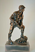Classic Iron Mike Military Statue