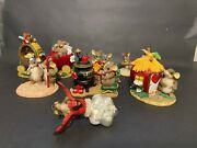 Charming Tails Figurines Lot Of 7 All With Minor Flaws See Description Photos