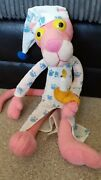 Pink Panther Blue And White Pyjamas Plush Teddy Soft Toy Vintage 2004 15