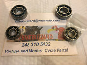 1970and039s Elsinore Cr250 Transmission Ball Bearing Replacement Set Of 4 New