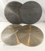Antique 4 Stella Music Box Disc 17 Inches 356, 472, 686, And 883