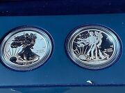 2 American Eagle West Point Silver Coa 2013