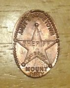 Rare The Andy Griffith Show Mount Airy North Carolina Elongated Copper Penny Nc