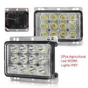 12v 60w Pair Agricultural Machinery Light Fit Off-road Vehiclesatvstruck Ip67