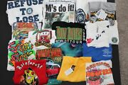 15 Vintage 80's 90's 00's T-shirts Las Vegas Hot August Nights Sports