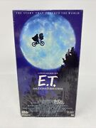E.t. The Extra-terrestrial Vhs Rare Collectible Black And Green Tape Original