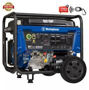 Westinghouse 12500-w Portable Rv Ready Gas Powered Generator With Remote Start