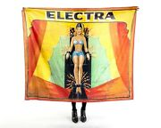 Electra Sideshow Tapestry Banner Vintage Antique Repro 50x60 Side Show