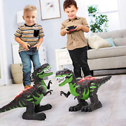 Temi 8 Channels 2.4g Remote Control Dinosaur For Kids Boys Girls Electronic Rc