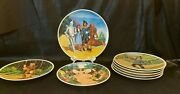 Full Set Of 8 Knowles Wizard Of Oz Collector Plates By James Auckland 1977/78/79