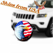 Spare Wheel Cover Tire Waterproof 17 Eagle Usa Flag For Jeep Wrangler Tracker