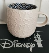 Disney Parks Exclusive Homestead Mickey Mouse Icon Coffee Mug New