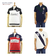 Polo Big And Tall Short Sleeve Polo Shirt With Emblem - 4 Types