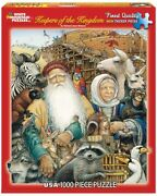 White Mountain Puzzles Keepers Of The Kingdom Noahs Ark 1000 Piece New Puzzle