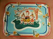 """Vintage Pepsi Cola Tray """"hits The Spot"""" Ca. 1940s-50s Very Nice"""