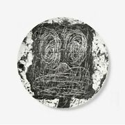 Rashid Johnson Limited Edition Plate. Edition Of 175. Sold Out.