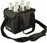 D Beer Caddy With Bottle Opener Gray Carrier Picnic Backpack Charcoal